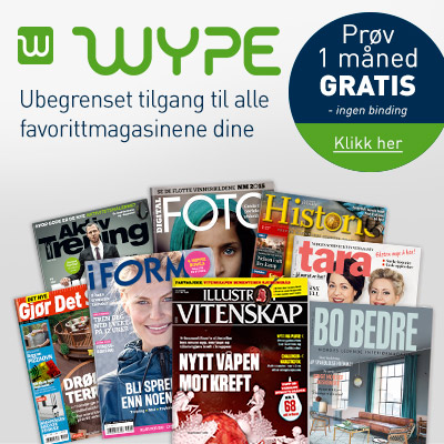 WYPE magasiner gratis.
