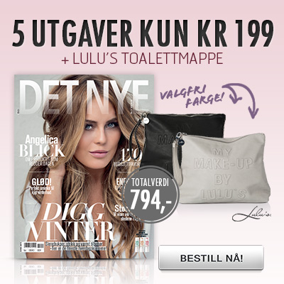 Det Nye + Lulus My Make-up toalettmappe.