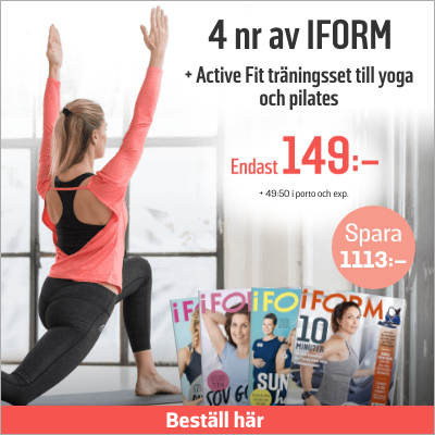 i FORM + Active Fit tights & bluse.