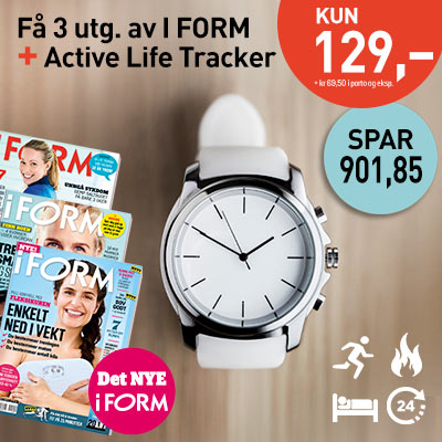 i FORM + Active Life Tracker.