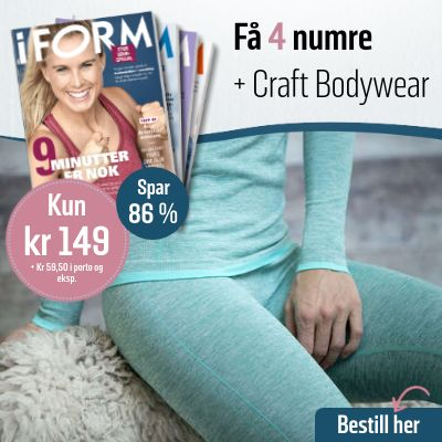 i FORM + Craft Bodywear trøye & tights.