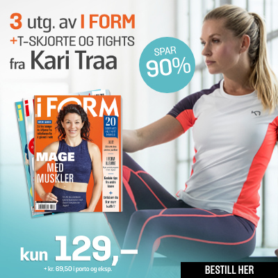 i FORM + Kari Traa T-skjorte & tights.