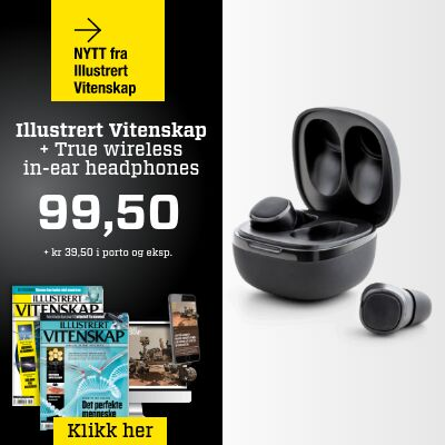 Illustrert Vitenskap + True Wireless Bluetooth in-ear.