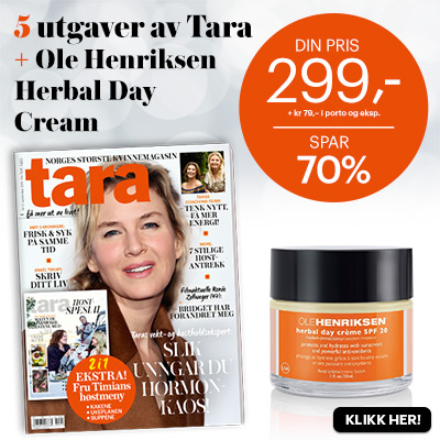 Tara + Ole Henriksen Herbal Day Cream SPF 20.