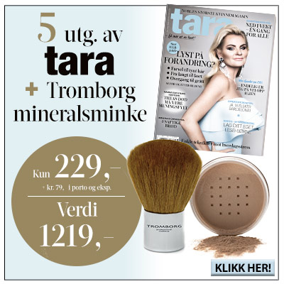 Tara + Tromborg: Mineral Foundation & Kabuki brush.
